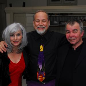 Backstage at the 2007 Nashville Unlimited Christmas benefit show at Christ Church Cathedral. We raised $14,000 that night for the Room In The Inn homeless shelter. Two great people with big hearts.