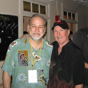 Legendary guitarist James Burton (Elvis, Emmylou, Ricky Nelson, Merle Haggard, etc. etc, etc.) hang out backstage at the 2005 James Burton Festival. A great night. We played with Dr. John, Eric Johnson, Steve Cropper, Steve Wariner and many more....