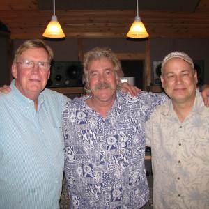 Recording in Nashville with producer Jim Rooney and folk music legend Tom Rush.