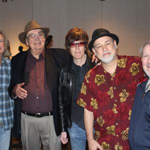 Sleepy LaBeef and Band at RCA Studio A - (L-R) Rick Lonow, Sleepy, Kenny Vaughan, DP, Gene Dunlap
