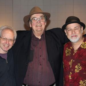 At RCA Studio B with famed journalist Peter Guralnick and mutual friend Sleepy LaBeef.